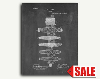 Patent Print - Cigar Patent Wall Art Poster