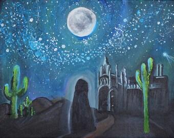 Desert Magic - Original Acrylic Painting