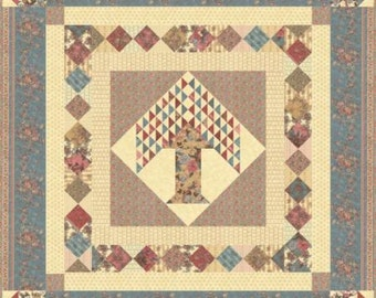 Collections Nurture Quilt Kit by Howard Marcus for Moda Fabrics . KIT4620