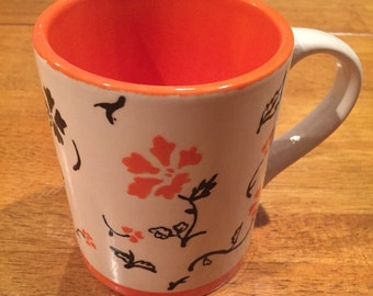 Fall Flower Mug