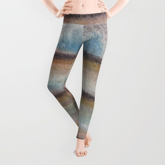 Items Similar To Fun Striped Leggings With Printed