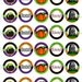Halloween party, 1.5 inch circles, 1 1/2 inch circles, digital Images  *coupon code in description*