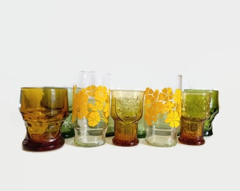 Vintage Glassware Set