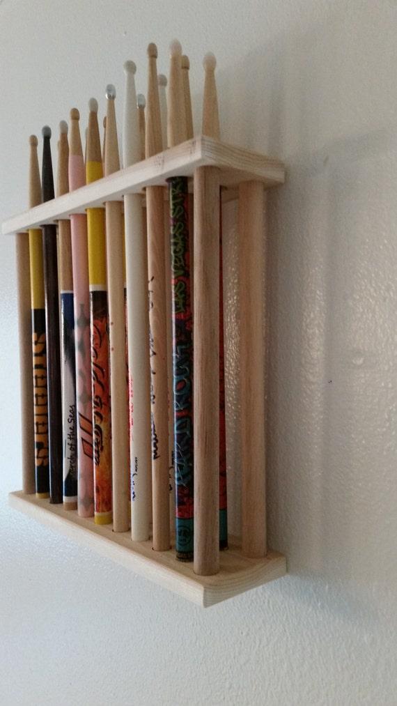 drumstick display drumstick holder drummer drum by mysticmosswoods. Black Bedroom Furniture Sets. Home Design Ideas