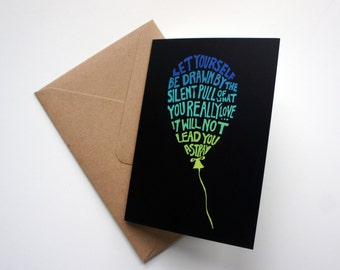Rumi Quote Greeting Card