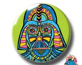 Darth Vader Badge Green. Darth Vader Pin. Star Wars Badge. Star Wars Pin. Star Wars. Pin Badge. Pin Badges. Badges. Button Badges. Pinback.