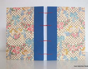 """COPTIC JOURNALS 5 x 8"""" / Coptic Book 15 x 21,5 cm / Diary A5 / Guest Notebook / Diary Guest"""