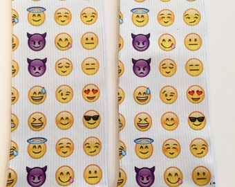 Emoji Faces Socks