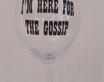 I'm here for the gossip