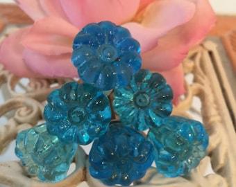 Knobs, Decorative Knobs, Blue Knobs