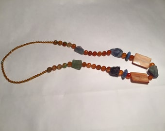 BALANCE-50% from the price marked handcrafted necklace gemstone