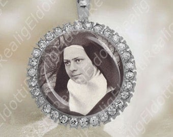 Carmelite nun, Mystic Blessed Elizabeth of the Trinity Catholic Medal
