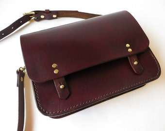 Leather Satchel, Cross Body Bag, Womens Leather Bag, Womens Leather Satchel