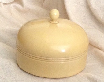 Vintage Vanity Powder Jar