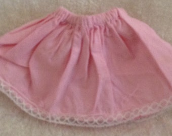Vintage Pink Doll Skirt Cute
