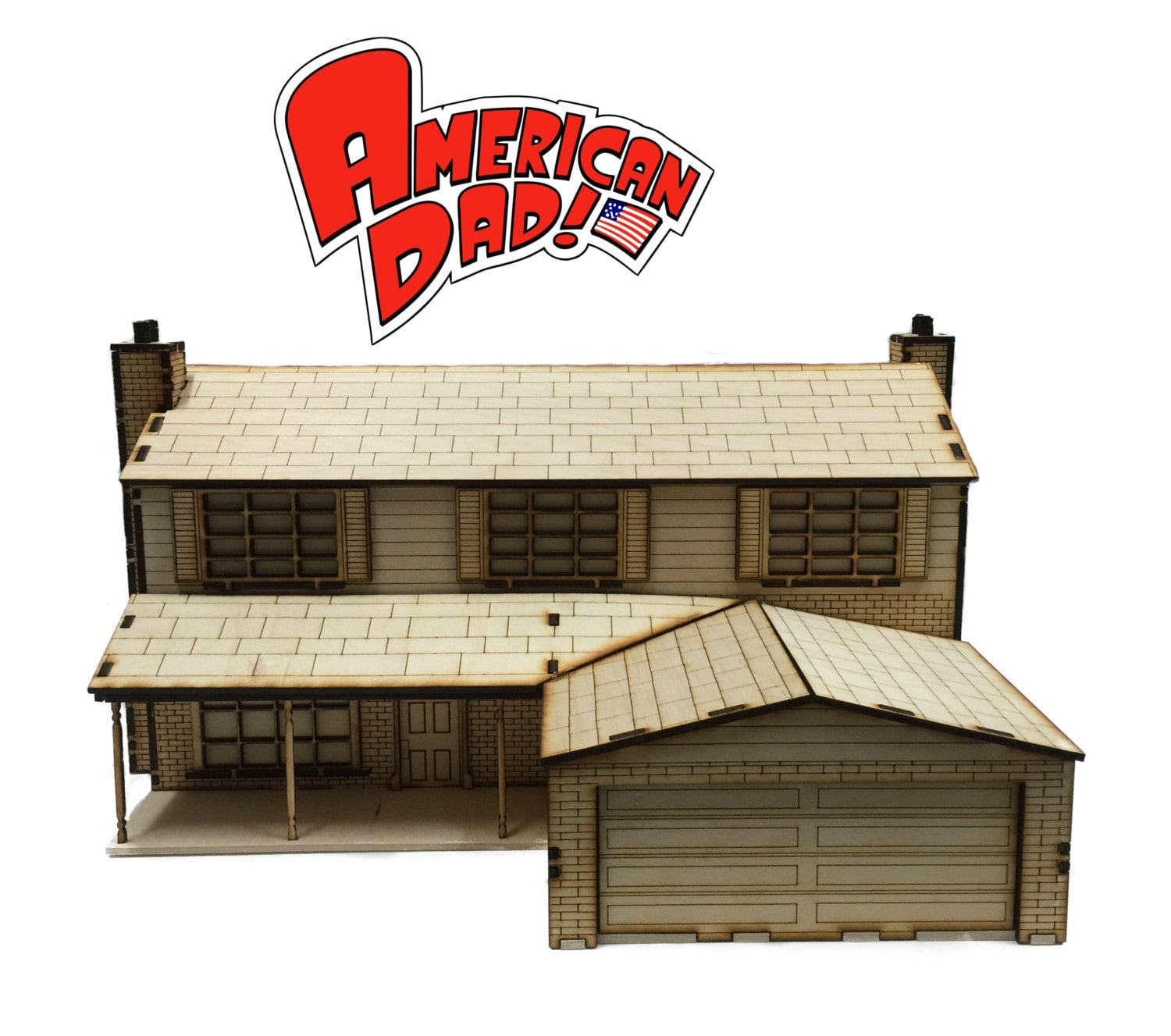 American dad house model kit for American kit homes
