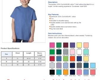 Custom Printed Youth T-Shirts