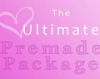 Wordpress Theme Design: The Ultimate WordPress Premade Theme Package