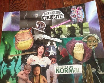 Suffering from Curiosity? Magazine Collage Art
