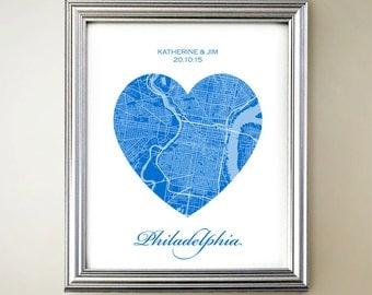 Philadelphia Heart Map