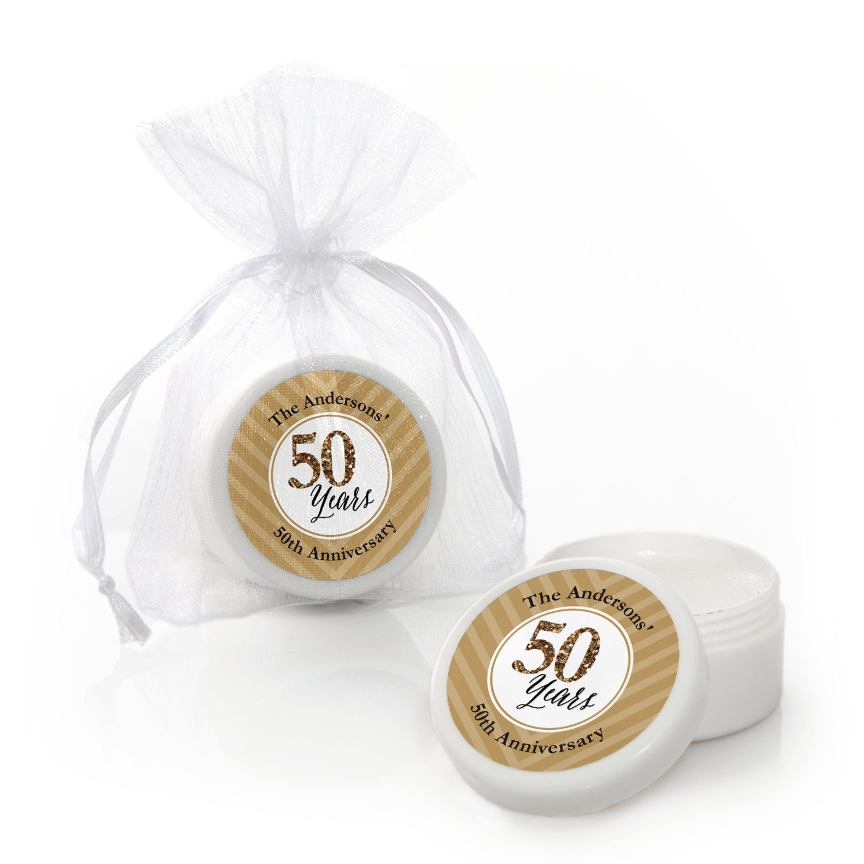 We Still Do 50th Wedding Anniversary Lip Balm Party Favors