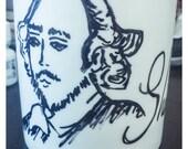 Shakespeare Painted Mug