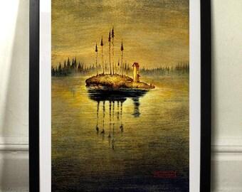 Finland - Art print