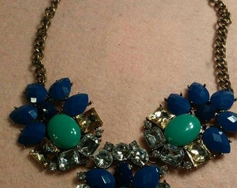 Vintage Necklace with Large Stones