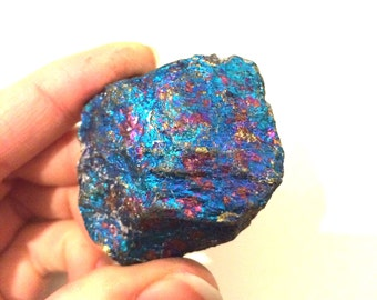 "peacock ore beautiful bright colours 2"" Chalcopyrite"