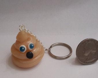 Ghost Poo Keychain