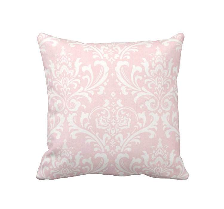 Blush Pink Decorative Pillow : Blush Pink Pillow Cover Pink Throw Pillow Cover Decorative