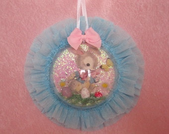 Easter Bunny Ornament Wall Hanging