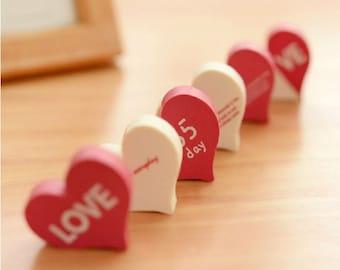 Love Collection Eraser