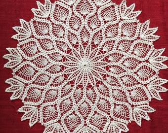 Crochet doily 30.5 inches