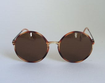 Nostalgic by Eschenbach round sunglasses made in the 80's in Germany