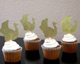 12 Thanksgiving Turkey Cupcake Toppers Thanksgiving Decoration Turkey Cupcake Toppers Friendsgiving Cupcake Toppers Little Turkey Birthday