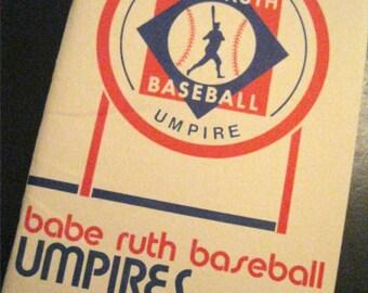 Babe Ruth Baseball Umpires Manual