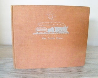 The Little Train Vintage Chldren's Picture Book by Lois Lenski Oxford University Press HC 1st Edition 4th Printing 1940