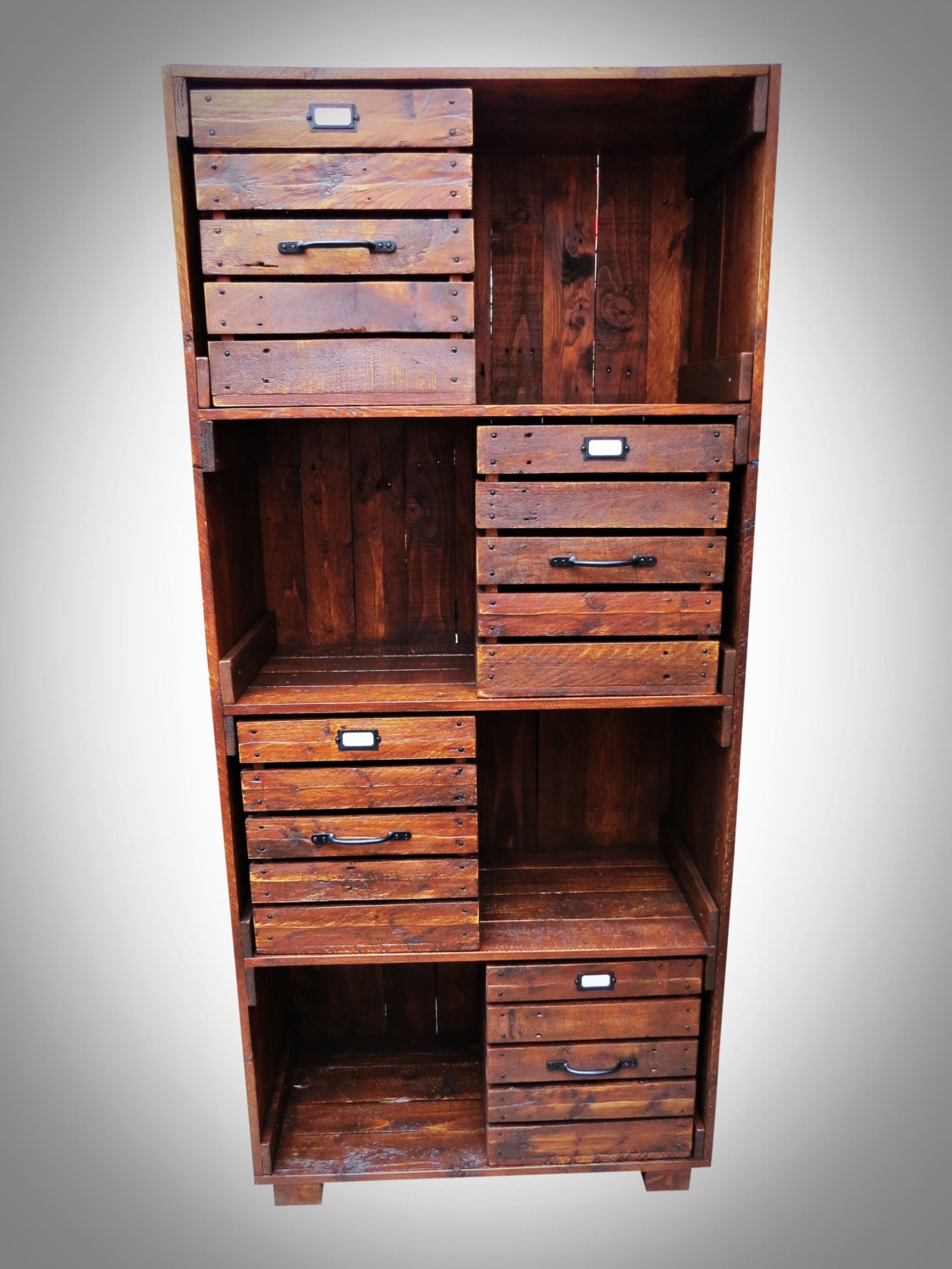#9B4530 Industrial Style Bookcase With Four Storage By PalletBrighton with 1125x1500 px of Recommended Industrial Style Bookcase 15001125 save image @ avoidforclosure.info