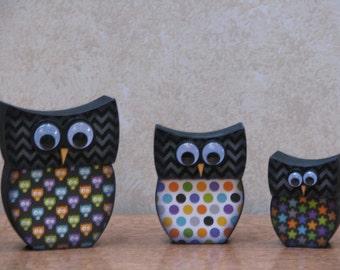 Halloween Owl Family - #1