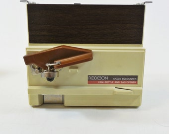 Robeson Space Encounter Automatic Can Opener / Bottle Opener - Cabinet Mount