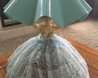 Vintage Lady Lamp