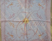Vintage Hermès Effluves Chiffon Tuch - Pochette Gavroche Pocket scarf - Zoé Pauwels