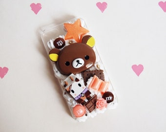 Rilakkuma Tokidoki Whipped Cream Case