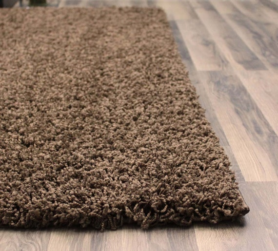 5ft X 8ft Brown Shag Rug Jute Backing 1 5 Inch By