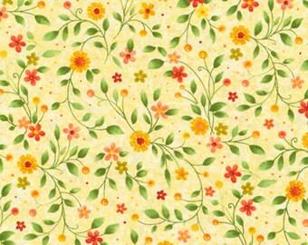 Paintbrush Studio Yellow Floral,       Birdsong     #120-10601
