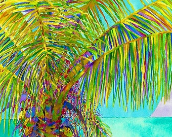 The Palm - On Canvas