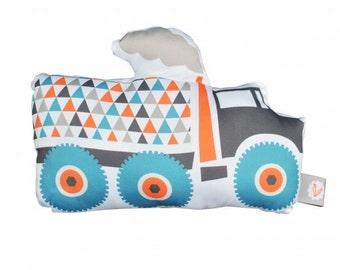 Cuddly toy truck