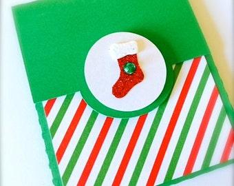 Christmas Gift Card Holder - Stocking