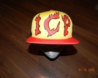 NWT-Insane Clown Posse Trucker cap/ one size fits all with a snapback closure